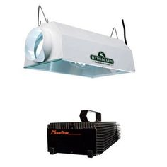Hydrofarm Daystar 6 Air Cooled Reflector  Phantom Dimmable Digital Ballast Grow Light Combo 600W ** Read more at the image link.