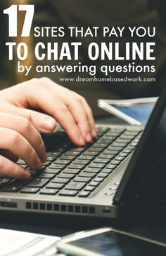 easy way to earn extra money online is by answering questions through chat. Here's 17 trustworthy sites you can check out!An easy way to earn extra money online is by answering questions through chat. Here's 17 trustworthy sites you can check out! Earn Extra Money Online, Earn Money From Home, Make Money Fast, Make Money Blogging, Money Tips, Earning Money, Investing Money, Money Today, Blockchain