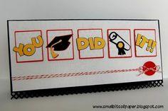 graduation crafts   Small Bits of Paper: Graduation Card - My Craft Spot