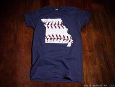 St. Louis Cardinals Missouri baseball Ladies t shirt  Buy Any 3 Shirts Get a 4th FREE on Etsy, $14.99