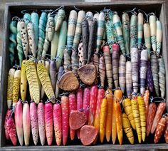 One of a Kind Jewelry for One of a Kind You: August: Beadfest Prep and End of the Summer Fun Fimo Clay, Polymer Clay Projects, Passementerie, Polymer Clay Beads, Clay Tutorials, Clay Creations, Clay Earrings, Jewellery, Diy Jewelry