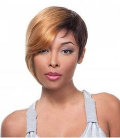 Human Hair Wig by It's A Wig!These short cut style wigs are easily handled, and made with top quality human hair.Color Shown: Cute Hairstyles For Short Hair, Hairstyles Haircuts, Short Hair Styles, Natural Hair Styles, Blonde Hairstyles, Layered Hairstyles, Mexican Hairstyles, Woman Hairstyles, Hairstyles Pictures