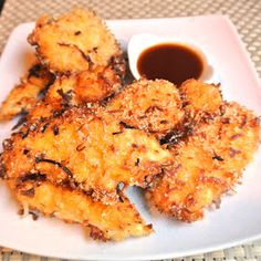 Mom, What's For Dinner?: Coconut Chicken with Sweet and Sour Sauce