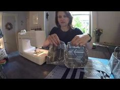 How to Sew A Divided Caddy Sewspire Sewing Tutorial and Giveaway - YouTube