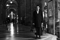 Man skirts--a trend I hope continues. Via The Sartorialist
