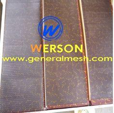 Hebei Général Toiles Métalliques Produit SARL Offre Treillis Grille de diamant Aluminium Couleur: Noir ,Argent  Dimensions:  100x25cm UNIVERSAL email : sales@generalmesh.com skype:jennis01 Wechat :13722823064