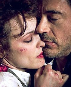 Robert Downey Jr & Rachel McAdams as Sherlock Holmes and Irene Adler in a Photoshoot Sherlock Holmes Robert Downey, Sherlock And Irene, Sherlock Holmes 3, Robert Downey Jr, Warner Bros Movies, Holmes Movie, Fictional Heroes, Literary Characters, Guy Ritchie
