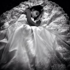I took  pics of my daughter in my wedding dress so I can pull them back out on her wedding day ....this was definitely pinterest inspired :)