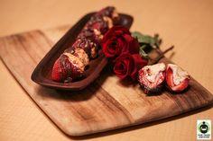Strawberry Cheesecake Bites #FairTrade #recipe