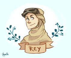 Rey by @shorelle | Star Wars The Force Awakens