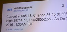 Now Get Live Stock Updates on Twitter From BSE!