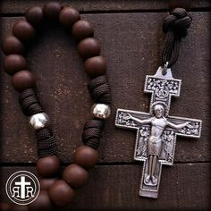 Rosary Beads for Sale, Men's Rosaries, Strong Rosaries, Military Rosary Rugged Rosaries® Paracord Rosary, 550 Paracord, Praying The Rosary, Rosary Catholic, Knights Of Columbus, Diy Bracelets Easy, Beads For Sale, Rosary Beads, Crucifix