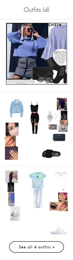 """Outfits (d)"" by jay2001 ❤ liked on Polyvore featuring Whiteley, WearAll, Plukka, Puma, MICHAEL Michael Kors, Rolex, NIKE, Linda Farrow, Alex Monroe and Rare London"