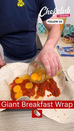 Fun Baking Recipes, Brunch Recipes, Appetizer Recipes, Breakfast Recipes, Cooking Recipes, Comida Keto, Breakfast Wraps, Food Garnishes, Breakfast Casserole