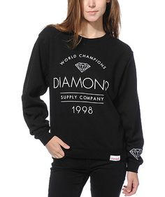 Zumiez has the largest selection of Diamond Supply Co clothing for men and women. Carrying a huge selection of Diamond hoodies, Diamond Supply t shirts, tank tops, hats and more for guys and girls.