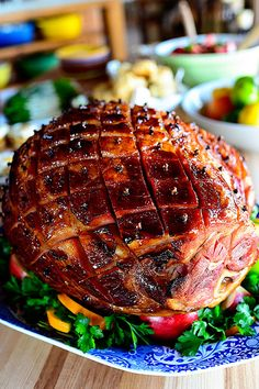 Glazed Easter Ham. The secret's in the sauce!
