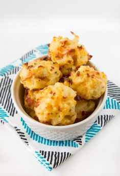 Loaded Potato Bites Recipe ~ these babies only have 5 ingredients in them