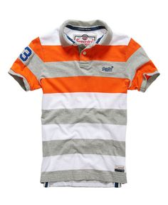 Shop Superdry Mens Double Stripe Hit Polo in Double Riviera Mix. Buy now with free delivery from the Official Superdry Store. Polo Rugby Shirt, Mens Polo T Shirts, Blue Polo Shirts, Striped Polo Shirt, Golf Shirts, Boys Summer Outfits, Mens Flannel, Superdry Mens, Swagg