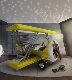 Kinder lieben Abenteuer! Mit diesem Flugzeugbett von Circu können sie durch die Wolken fliegen und somit sind ihren Abenteuern keine Grenzen mehr gesetzt! Unser Angebot an Kinder- und Erwachsenenmöbeln und viele Extras wie Inspirationen und Tipps finden Sie auf unserer Webseite : https://goo.gl/7mPv2r  #kinder #schlafzimmer #einrichtung #deko #einzigartig #spielen #abenteuer #spaß #Kinderzimmerinspirationen #kinderzimmerEinrichtung #Kinderzimmer #inspirationen #einzigartigekinderzimmer…