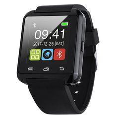 Smartwatch con correa de silicona.Conexión Bluetooth.Pantalla LCD 1,44