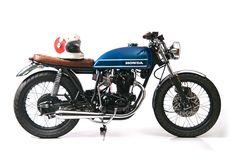 Lean 'n clean: Slipstream Creations' Honda CB360T   Bike EXIF