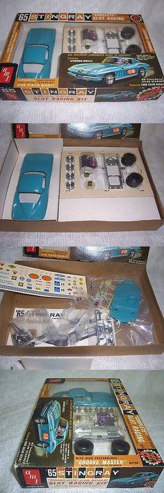 Pre-1970 2620: 1 24 Amt Scale Rare Vintage 1965 Corvette Stingray Teal Blue Slot Car Kit-Mib! -> BUY IT NOW ONLY: $299.99 on eBay!
