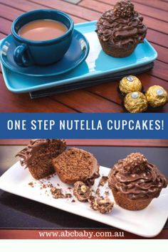 One Step Nutella Cup Cakes - ABC Blog - Australian Baby Card