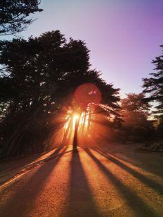 San Francisco Sunrise -- hiking optional