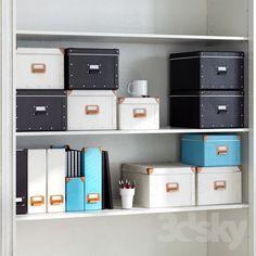 Office Storage, Storage Boxes, Home Organization, Locker Storage, Ikea Workstation, Nerd Room, Coastal Bedrooms, Ikea Hack, Decorative Objects