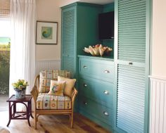alternative to closet in office/guest room