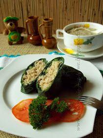 Gotowanie jest łatwe: Zielone gołąbki z grzybową nutą Avocado Egg, Zucchini, Eggs, Vegetables, Breakfast, Food, Morning Coffee, Essen, Egg