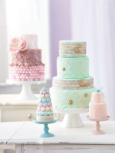 Candy-Covered Wedding Cakes Guaranteed To Impress Your Guests | Weddingbells