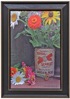 Summer Flowers Framed Print - Kruenpeeper Creek Country Gifts