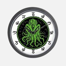 Great Cthulhu Wall Clock for