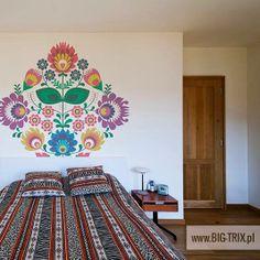 POLISH: Floral folk motif by Big-trix.pl   #folk #ethnic #polish #wallpaper
