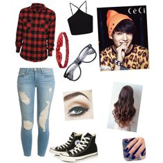 A Date Night with BTS jungkook by roslydragonfly on Polyvore featuring polyvore fashion style Miss Selfridge Frame Denim Converse Charlotte Russe Lottie