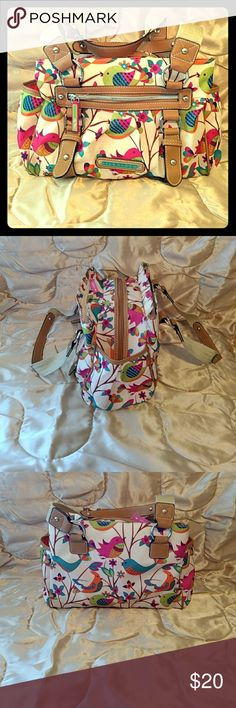 Lily Bloom Purse This gorgeous Lily Bloom purse is great for the Spring and Summer. Has a couple of small stains on outside and very clean inside. Multiple pockets and very spacious. This purse will brighten up anyone's day!! Lily Bloom  Bags Totes