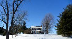 Beautiful winter day in Ohio