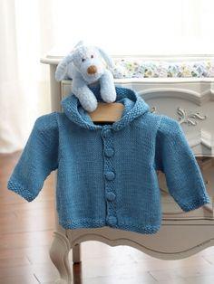 Knit Hoodie | Yarn | Free Knitting Patterns | Crochet Patterns | Yarnspirations