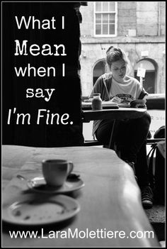 """Some day's all I have left is """"I'm fine"""". Some days, that's all any parent of a child with special needs has left. special needs parenting encouragement and awareness"""