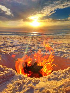 Beach Bonfire... simply dig a whole: http://beachblissliving.com/travel-story-cape-san-blas-florida/