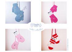winter collection guanti 0-3 anni  con bottoni.--winter collection  gants 0-3 ans  avec des boutons