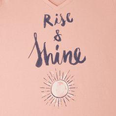 Women's Rise & Shine Sun Sleep Vee
