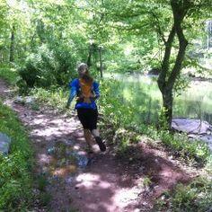 Trail Running in VA.