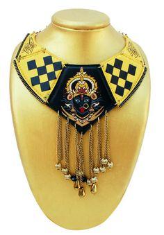 Kali collar necklace  by flukedesigncompany price 40usd