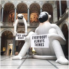 Stefan Sagmeister – The Happy Show: Ironic...Everybody always thinks they are right// #StefanSagmeister