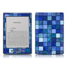 Kindle 4 Skin - Blue Mosaic by FP | DecalGirl