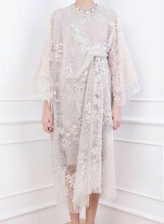 Dress brokat muslimah hijab fashion 22 trendy Ideas - Another! Kebaya Lace, Kebaya Dress, Dress Pesta, Kebaya Hijab, Kebaya Muslim, Kebaya Brokat, Batik Kebaya, Muslim Hijab, Muslim Dress