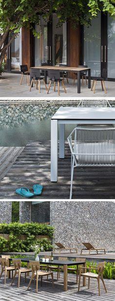 Ausschließlich Hochwertige Und Wetterbeständige Materialien Kommen Beim  Gartentisch Machar Von Oasiq Zum Einsatz. #Gartentisch