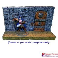 Dungeon Scenery is modular terrain for board games, wargames, RPG, D&D Dungeons And Dragons, Saga, Board Games, Markers, Scenery, Miniatures, Fantasy, Baseball Cards, Classic